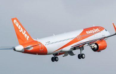 Primer Airbus A320 de easyJet equipado con FANS-C