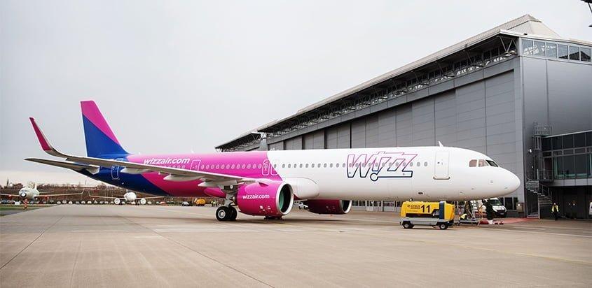 Primer Airbus A321neo para Wizz Air.