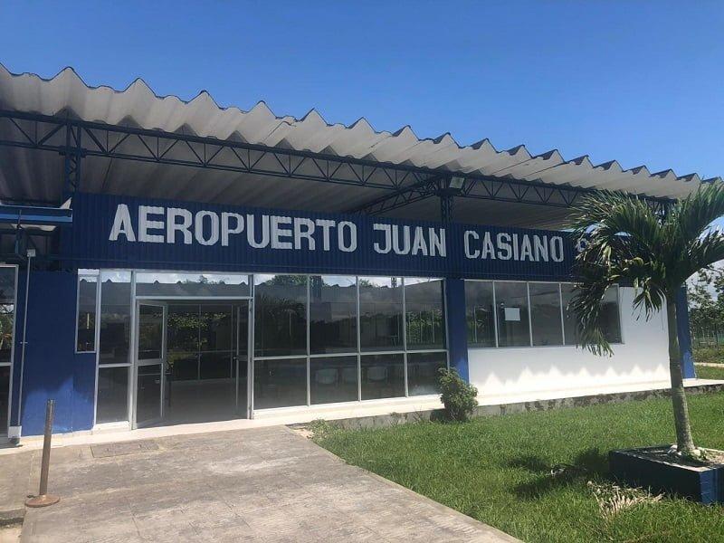Aeropuerto Juan Casiano de Guapi, Cauca.