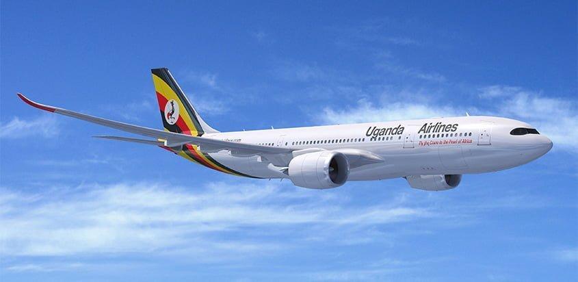 Airbus A330neo de Uganda Airlines.