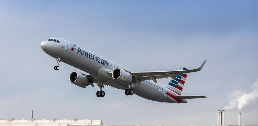 Airbus A321neo de American Airlines.