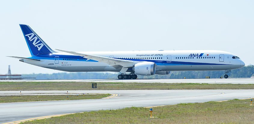 Primer Boeing 787-10 de All Nippon Airways (ANA).