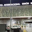 Vista del Aeropuerto Internacional Simón Bolívar de Santa Marta.