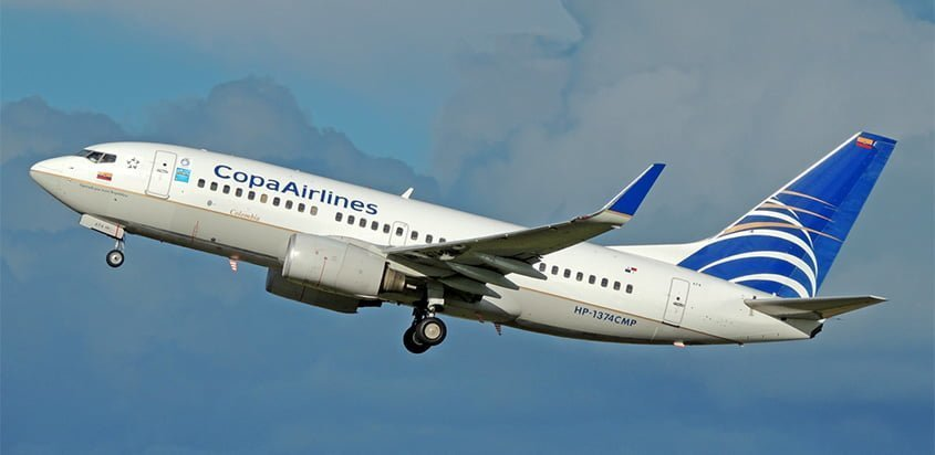 Boeing 737-700 de Copa Airlines.