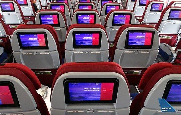 Nueva clase económica de LATAM Airlines.