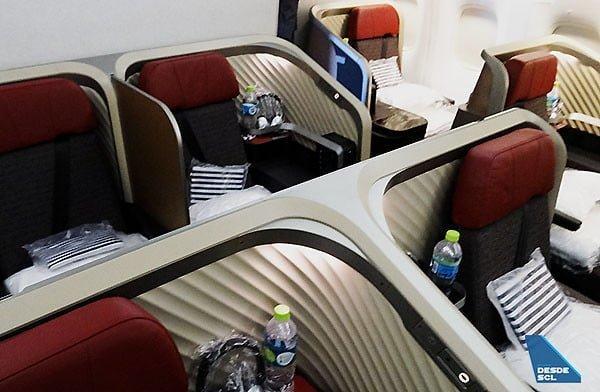 Nueva Premium Business de LATAM Airlines.