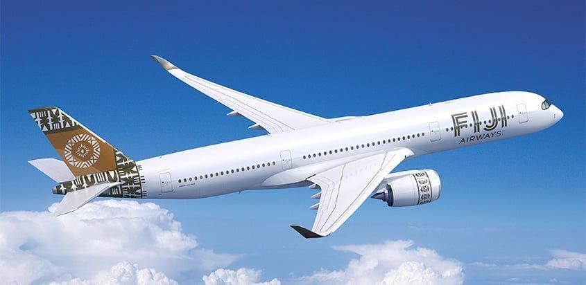 Primer Airbus A350 para Fiji Airways.