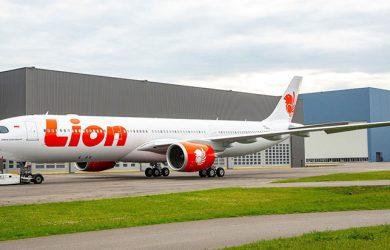 Primer Airbus A330neo de Lion Air.