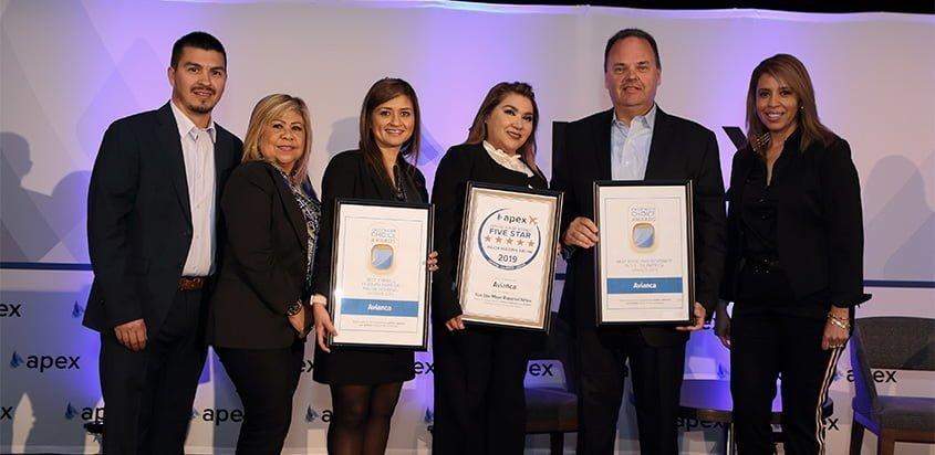 Reconocimientos a Avianca en los Passenger Choice Awards 2019.