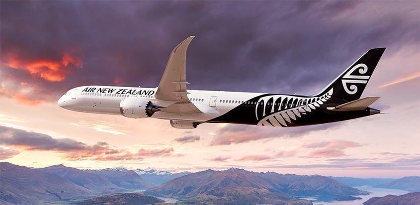 Boeing 787-10 de Air New Zealand.