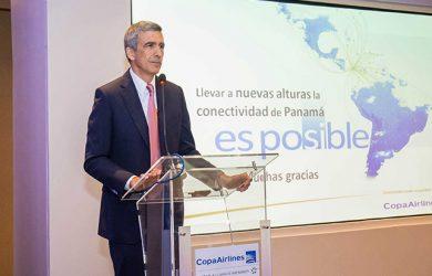 Pedro Heilbron, Director Ejecutivo de Copa Airlines.