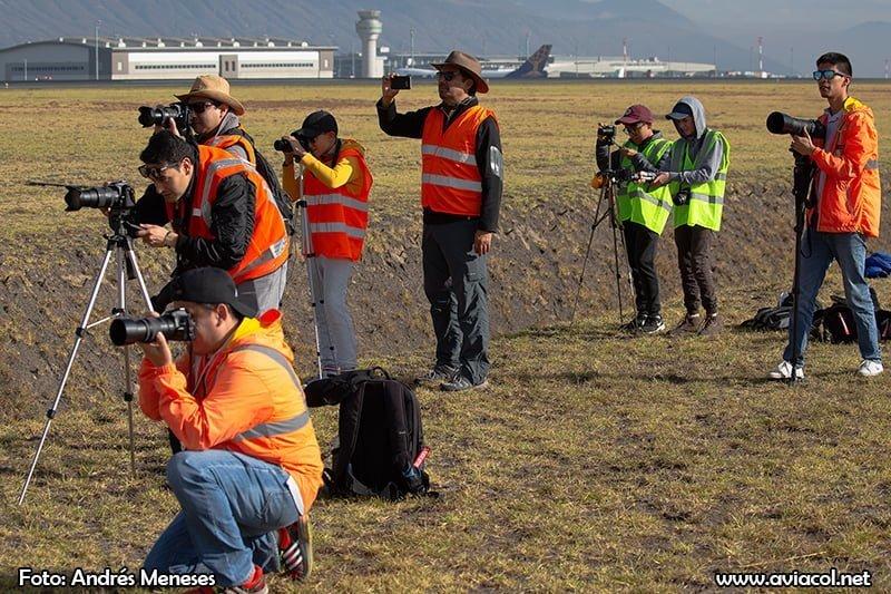 Spotter Day Quito 2018 - Foto de Andrés Meneses