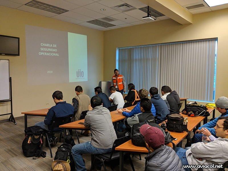 Spotter Day Quito 2018 - Charla seguridad operacional