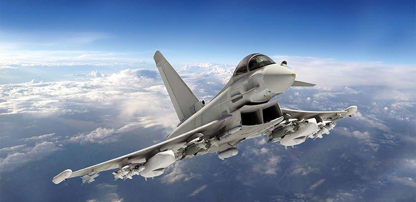 Eurofighter Typhoon.