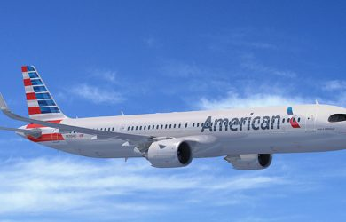 Airbus A321XLR de American Airlines.