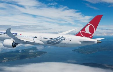 Prototipo de un Boeing 787 de Turkish Airlines.