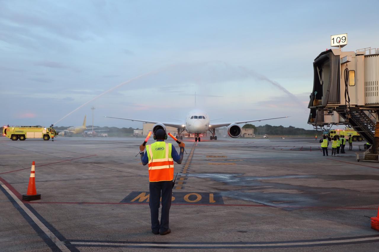 Bienvenida al primer vuelo de Air Europa a Ciudad de Panamá.