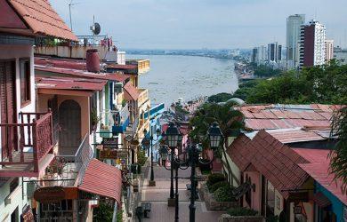 Destinos turísticos de Guayaquil, Ecuador.