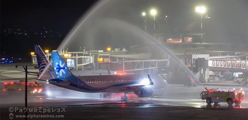 Airbus A320 de InterJet en Medellín.