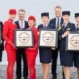 Reconocimiento a Lufthansa como Mejor aerolínea de Europa por Skytrax.