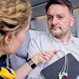 Uso de la telemedicina a bordo de un vuelo de Lufthansa.