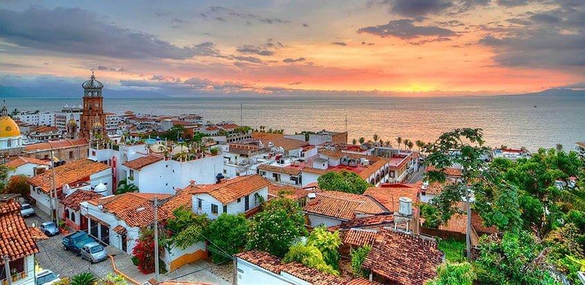 Puerto Vallarta en México, uno de los destinos recomendados por Copa Airlines.