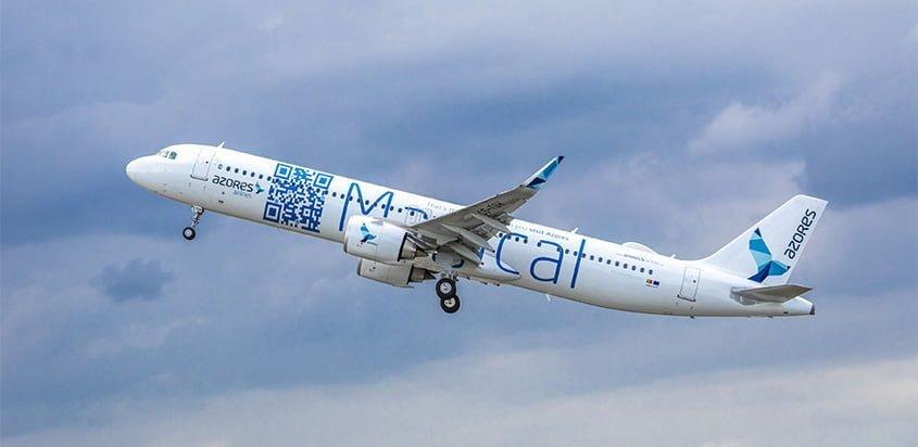 Primer Airbus A321LR de Azores Airlines.