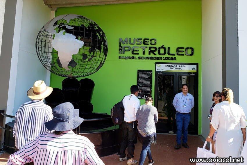 Museo del Petróleo de Barrancabermeja.