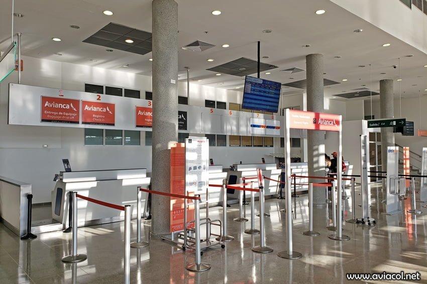 Aeropuerto Yariguíes de Barrancabermeja.