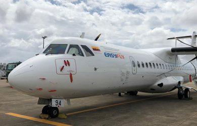 ATR 72-600 de EasyFly en rodaje.