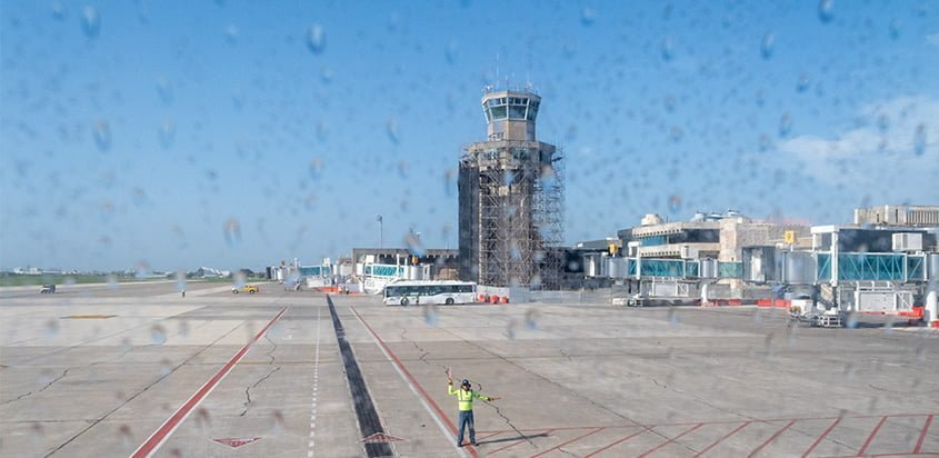 Aeropuerto Ernesto Cortissoz de Barranquilla.