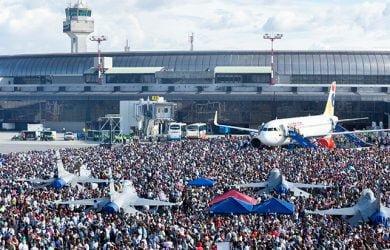 Vista de la F-AIR Colombia 2019.