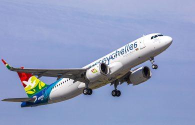 Primer Airbus A320neo de Air Seychelles.