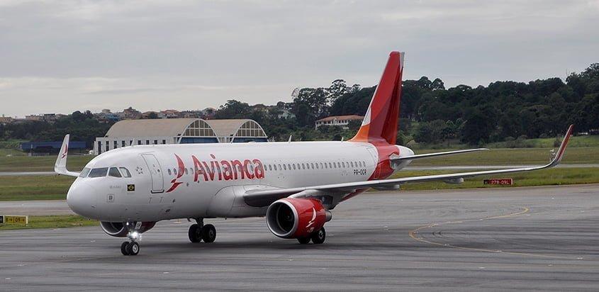 Airbus A320 de Avianca Brasil.
