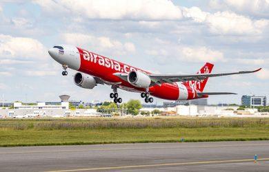 Primer Airbus A330neo de AirAsia.