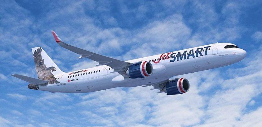 Airbus A321XLR de JetSmart.