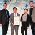 Reconocimiento a Avianca durante los premios APEX 2019.