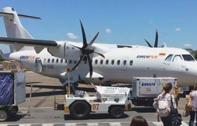 ATR 42 de EasyFly en Villavicencio.