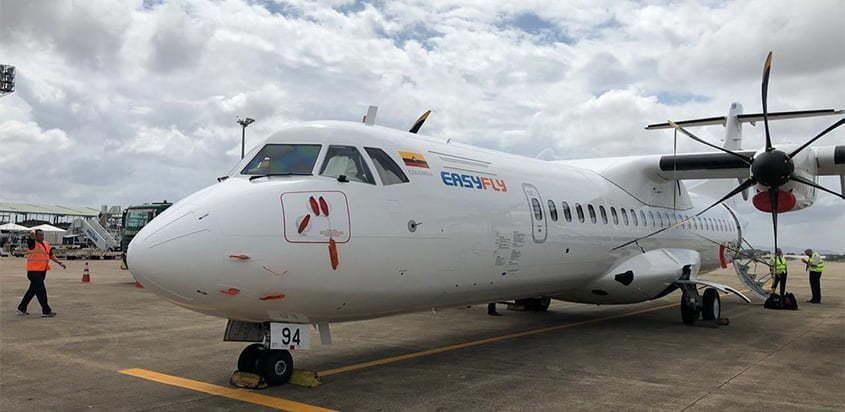 ATR 72-600 de EasyFly.