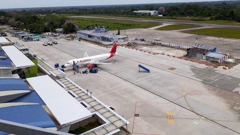 Aeropuerto Vásquez Cobo de Leticia, nueva plataforma.