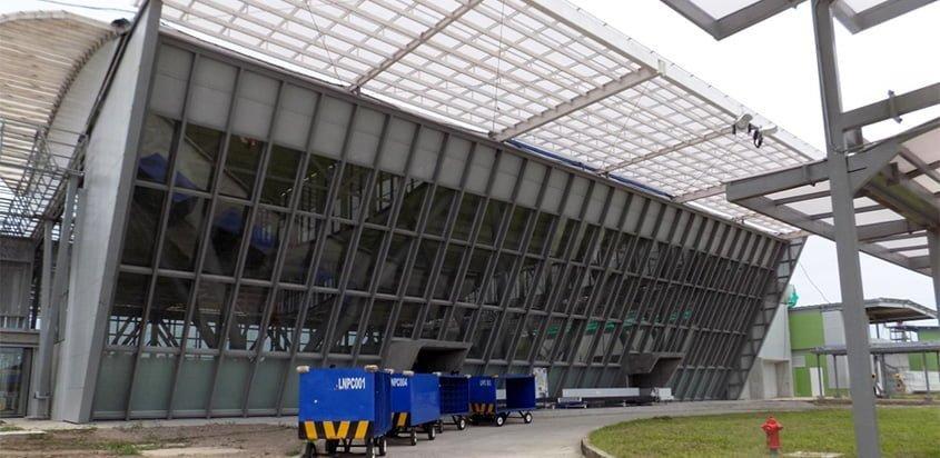 Nueva terminal del Aeropuerto Vásquez Cobo de Leticia.