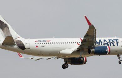 Airbus A320 de JetSmart.