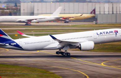 Airbus A350 de LATAM Airlines.