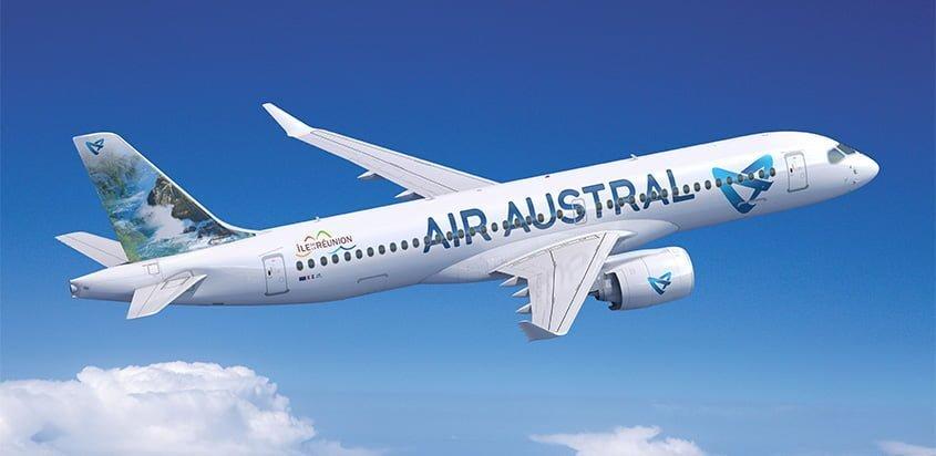 Airbus A220 de Air Austral.