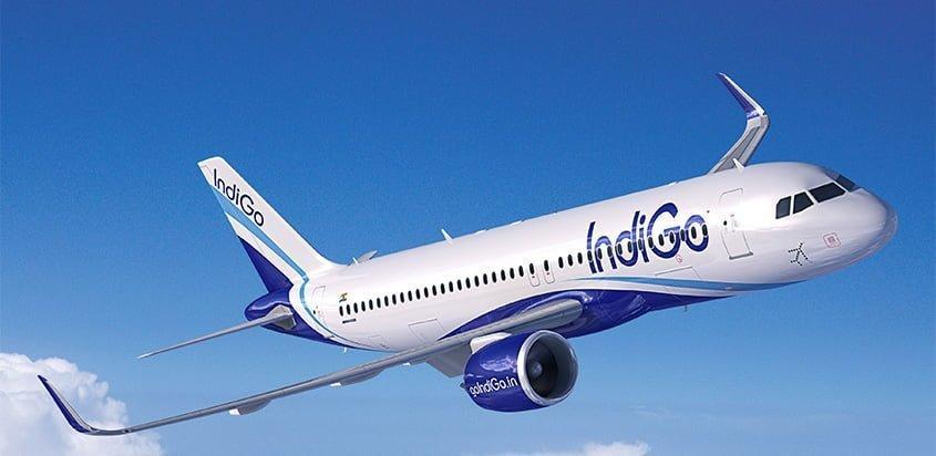 Airbus A321XLR de IndiGo de India.