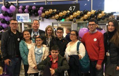 American y mAAgic cumplen sueño a niños de conocer Orlando.