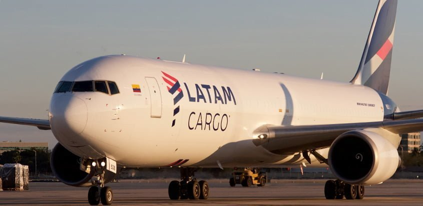 Boeing 767-300F de LATAM Cargo.