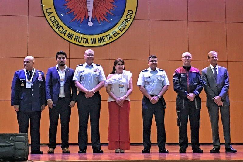 Congreso del Aire y del Espacio en EMAVI.