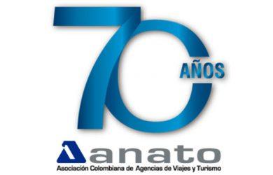 Logo de ANATO en sus 70 años.