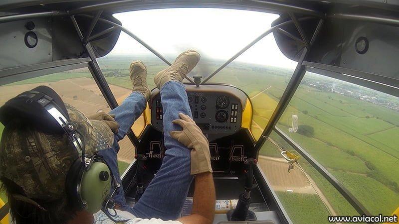 Prueba de vuelo del WA500-AG para demostración de estabilidad sin controles.